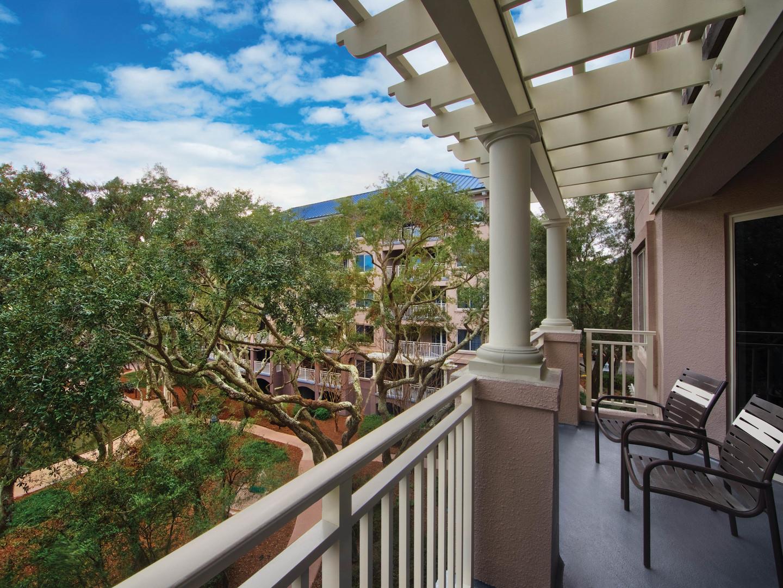 Marriott's Grande Ocean Villa Balcony. Marriott's Grande Ocean is located in Hilton Head Island, South Carolina United States.