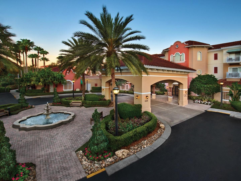 Marriott's Grande Vista Resort Entrance. Marriott's Grande Vista is located in Orlando, Florida United States.