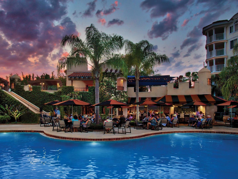 Marriott's Grande Vista Copa Loca Restaurant/Patio Dining. Marriott's Grande Vista is located in Orlando, Florida United States.