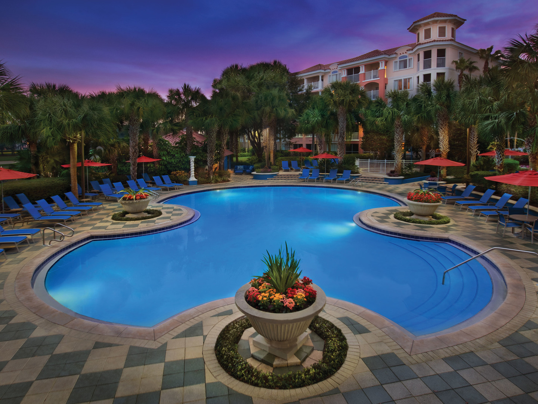 Marriott's Grande Vista Clubside Pool. Marriott's Grande Vista is located in Orlando, Florida United States.