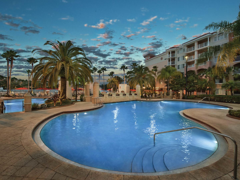 Marriott's Grande Vista Plaza del Sol Pool. Marriott's Grande Vista is located in Orlando, Florida United States.