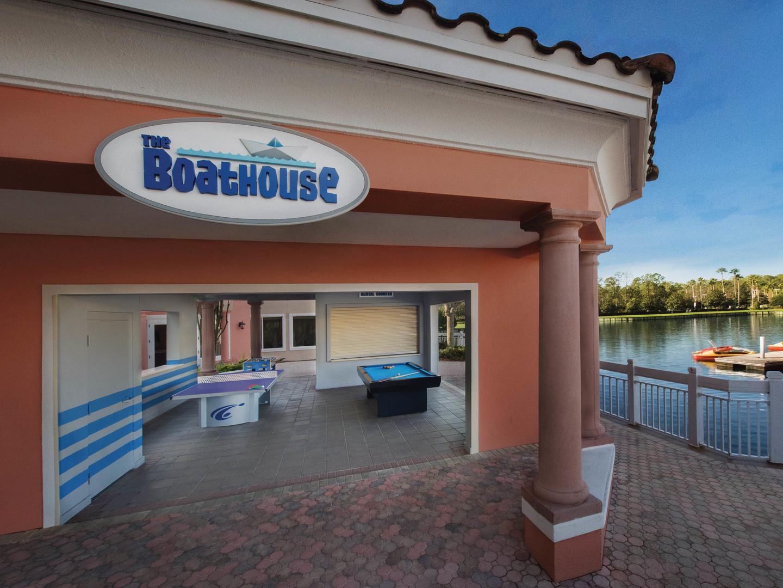 Marriott's Grande Vista The Boathouse. Marriott's Grande Vista is located in Orlando, Florida United States.