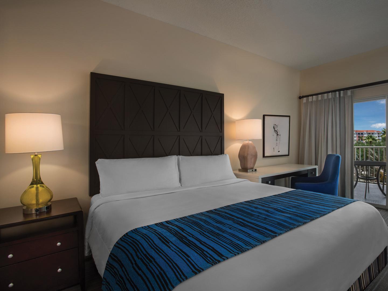 Marriott's Grande Vista Villa Master Bedroom. Marriott's Grande Vista is located in Orlando, Florida United States.