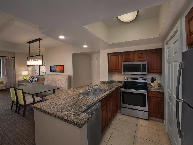 Marriott's Grande Vista Villa Kitchen. Marriott's Grande Vista is located in Orlando, Florida United States.