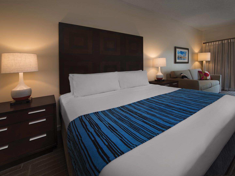 Marriott's Grande Vista Villa Guest Bedroom. Marriott's Grande Vista is located in Orlando, Florida United States.