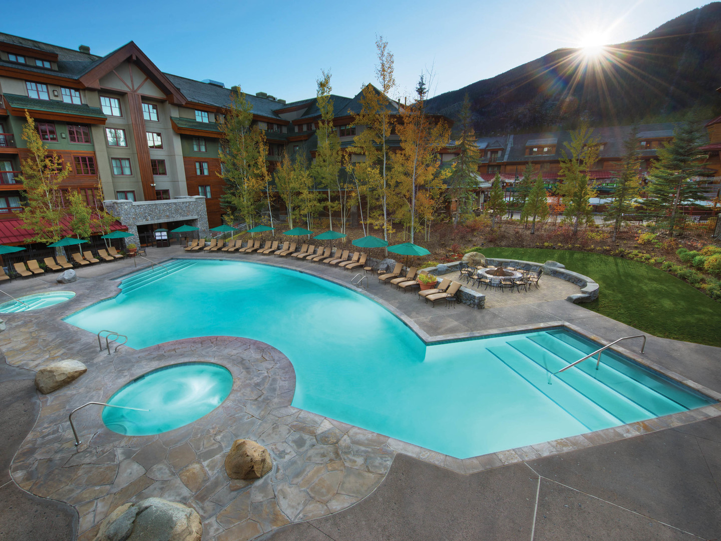 Marriott's Grand Residence Club<span class='trademark'>®</span> 1, Lake Tahoe Main Pool. Marriott's Grand Residence Club<span class='trademark'>®</span> 1, Lake Tahoe is located in South Lake Tahoe, California United States.