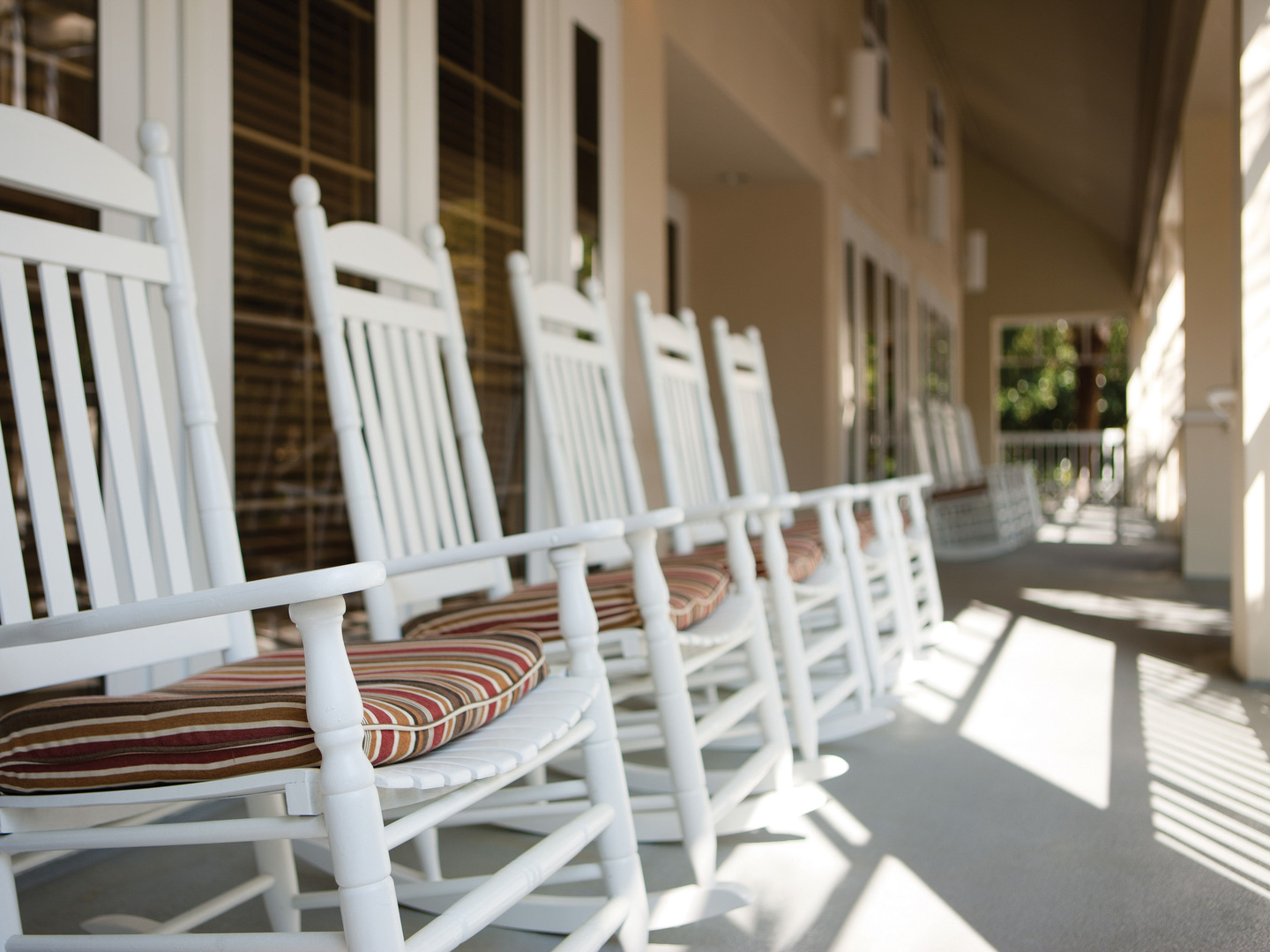 Marriott's Harbour Club Front Porch/Rocking Chairs. Marriott's Harbour Club is located in Hilton Head Island, South Carolina United States.