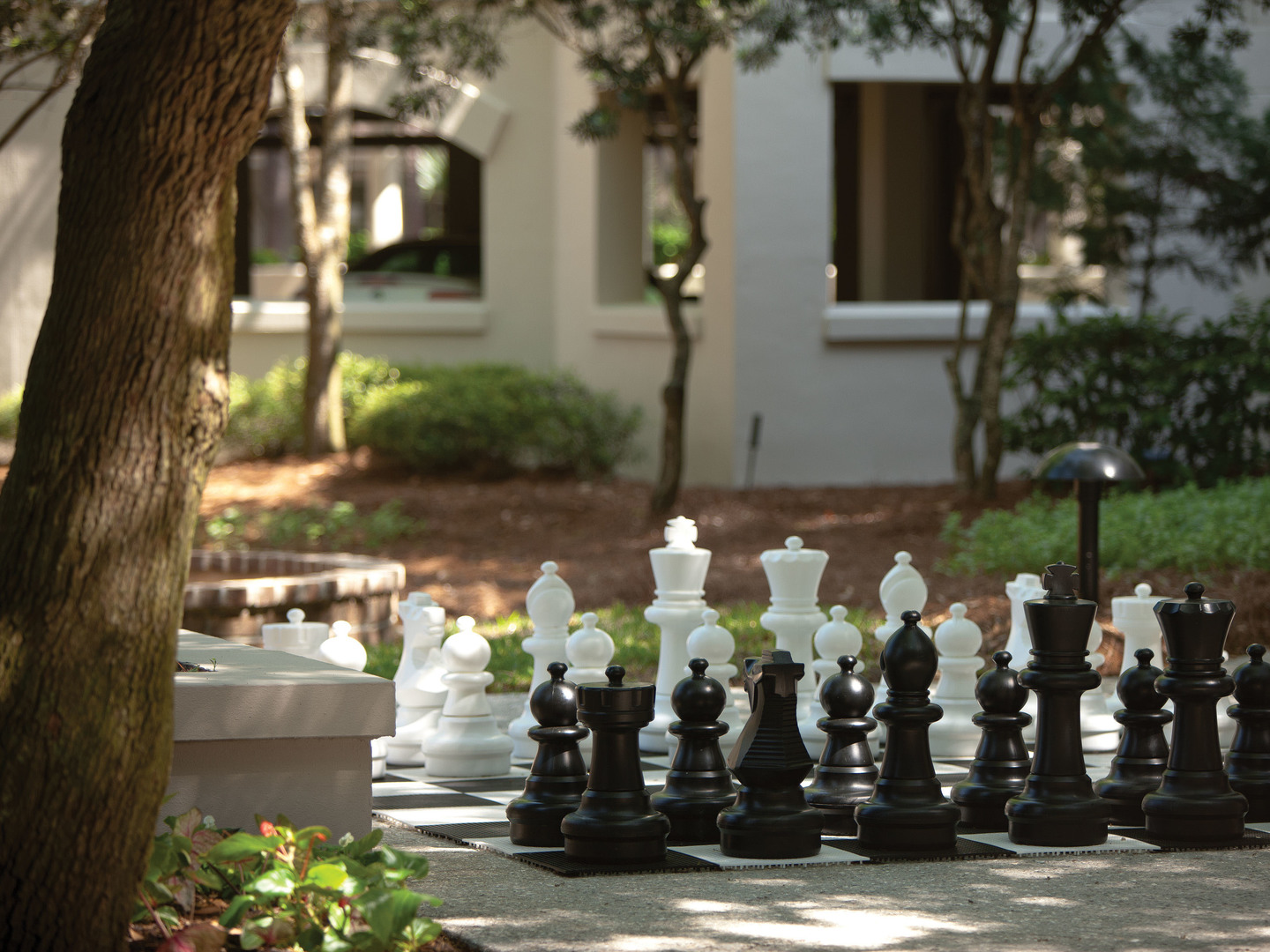 Marriott's Harbour Club Activities/Chess. Marriott's Harbour Club is located in Hilton Head Island, South Carolina United States.
