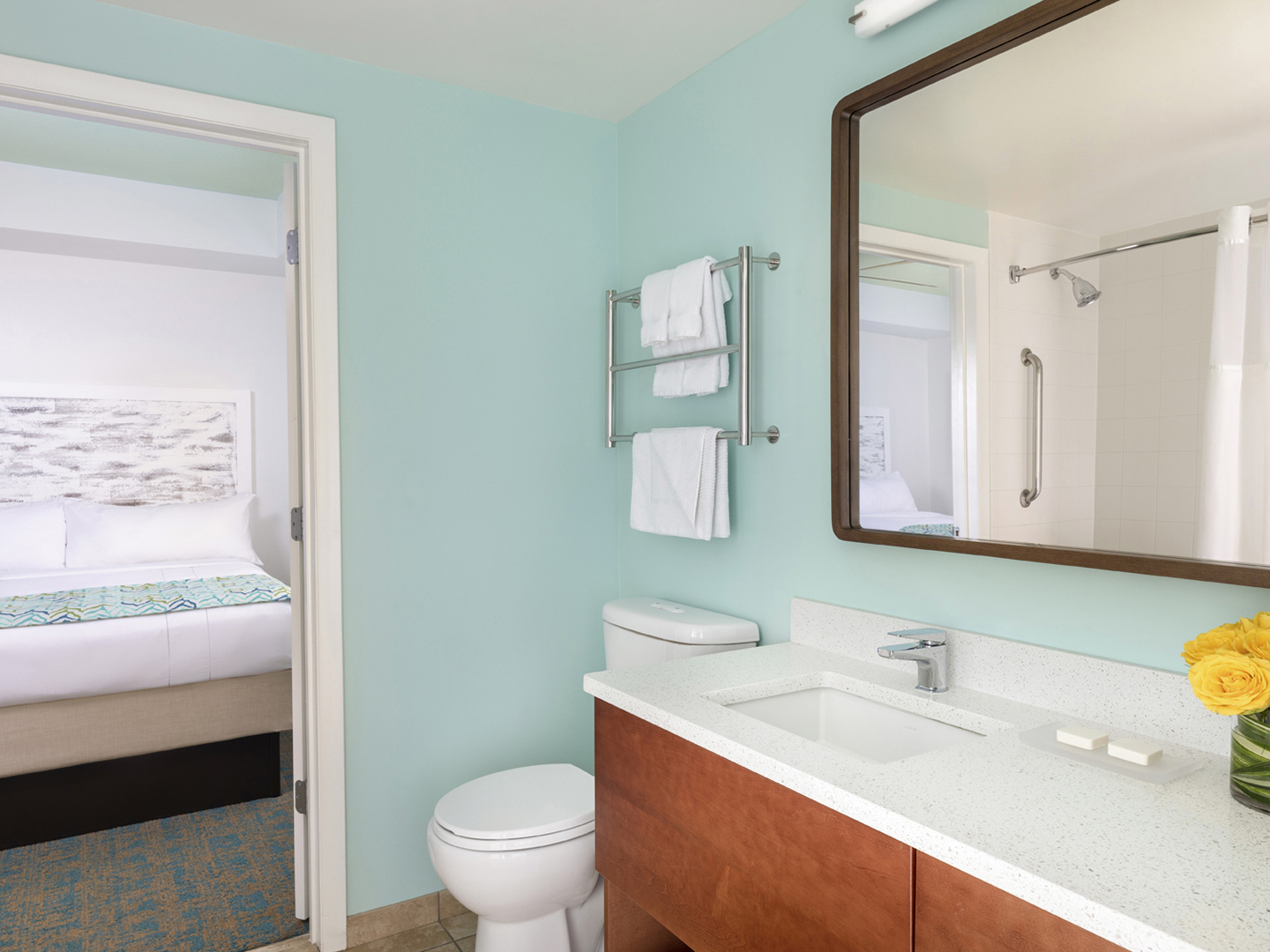 Marriott's Harbour Lake Guest Bathroom. Marriott's Harbour Lake is located in Orlando, Florida United States.
