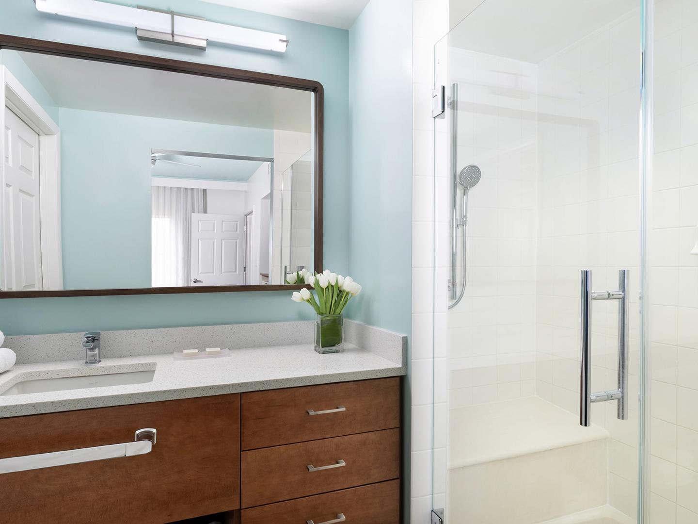 Marriott's Harbour Lake Master Bathroom. Marriott's Harbour Lake is located in Orlando, Florida United States.