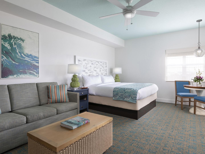 Marriott's Harbour Lake Living Room & Bedroom. Marriott's Harbour Lake is located in Orlando, Florida United States.