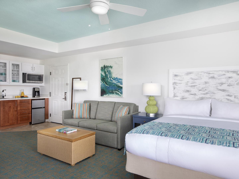 Marriott's Harbour Lake Living Room & Kitchen. Marriott's Harbour Lake is located in Orlando, Florida United States.