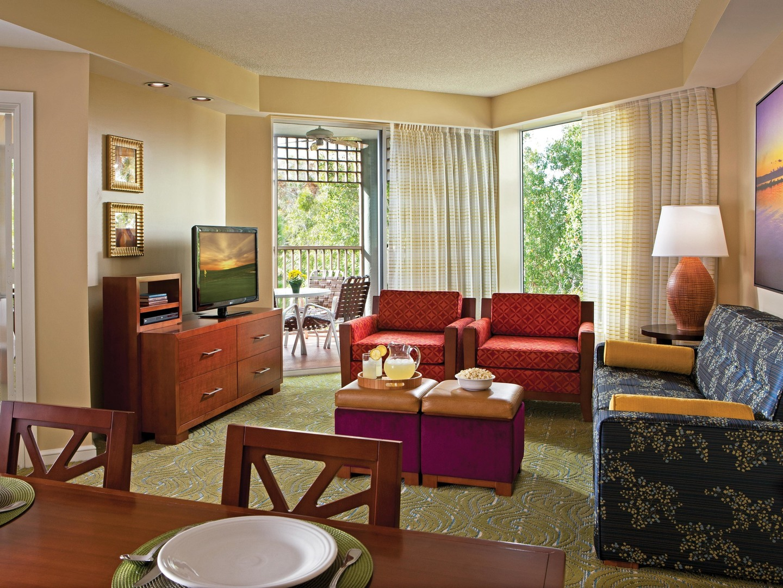 Marriott's Imperial Palms Villa Living Room/Dining Room. Marriott's Imperial Palms is located in Orlando, Florida United States.