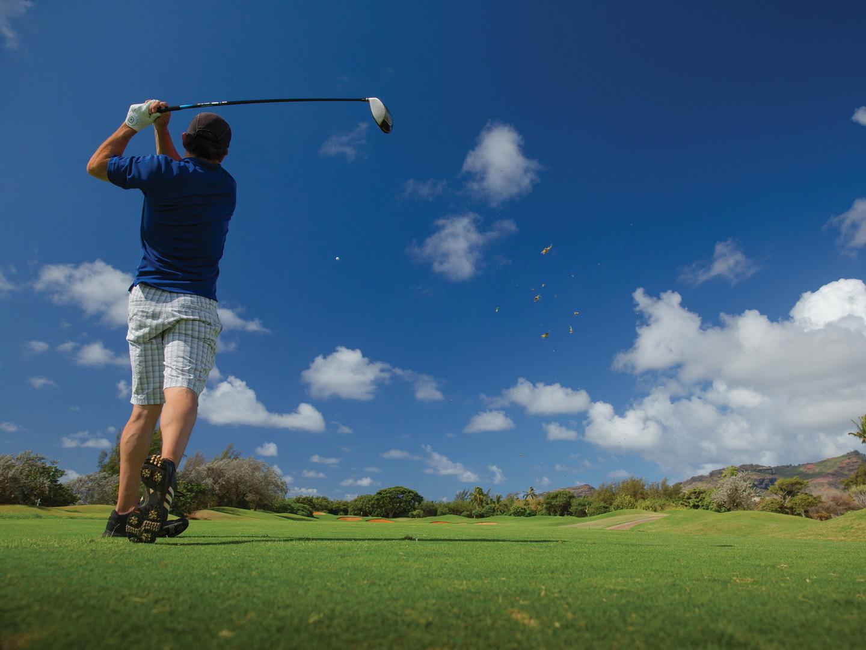 Marriott's Kaua'i Beach Club Golf. Marriott's Kaua'i Beach Club is located in Līhuʻe, Kaua'i, Hawai'i United States.