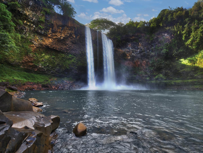 Marriott's Kaua'i Beach Club Destination Excursion/Wailua Falls. Marriott's Kaua'i Beach Club is located in Līhuʻe, Kaua'i, Hawai'i United States.