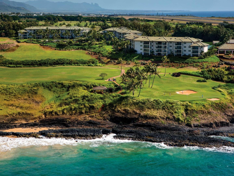 Marriott's Kaua'i Lagoons – Kalanipu'u Aerial View of Resort. Marriott's Kaua'i Lagoons – Kalanipu'u is located in Līhuʻe, Kaua'i, Hawai'i United States.