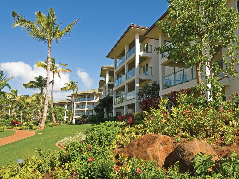Marriott's Kaua'i Lagoons – Kalanipu'u Resort Exterior. Marriott's Kaua'i Lagoons – Kalanipu'u is located in Līhuʻe, Kaua'i, Hawai'i United States.
