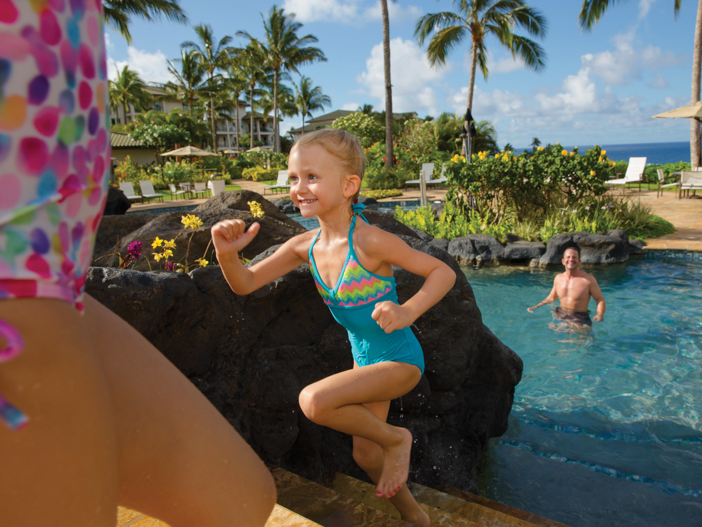 Marriott's Kaua'i Lagoons – Kalanipu'u Main Pool. Marriott's Kaua'i Lagoons – Kalanipu'u is located in Līhuʻe, Kaua'i, Hawai'i United States.