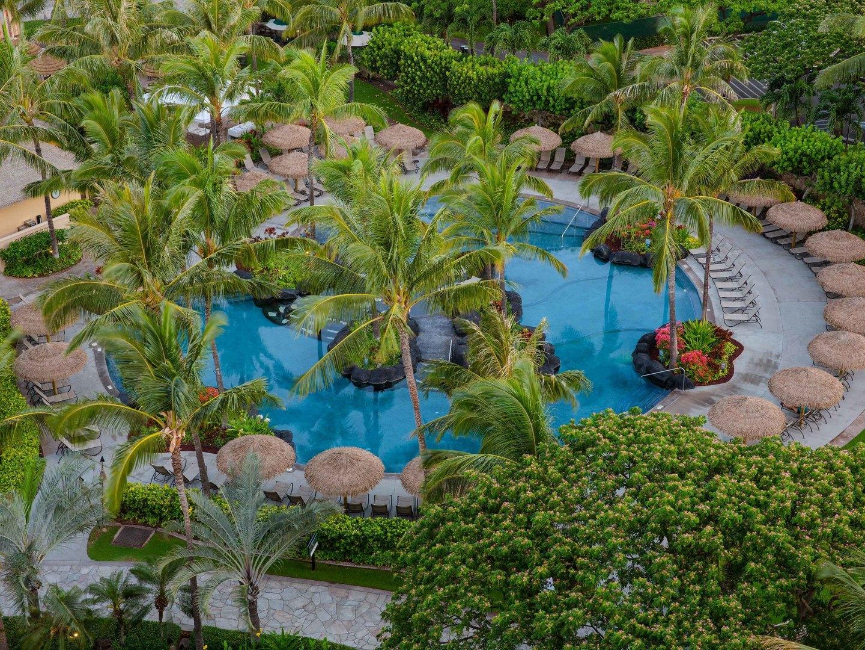 Marriott's Ko Olina Beach Club Quiet Pool. Marriott's Ko Olina Beach Club is located in Kapolei, O'ahu, Hawai'i United States.