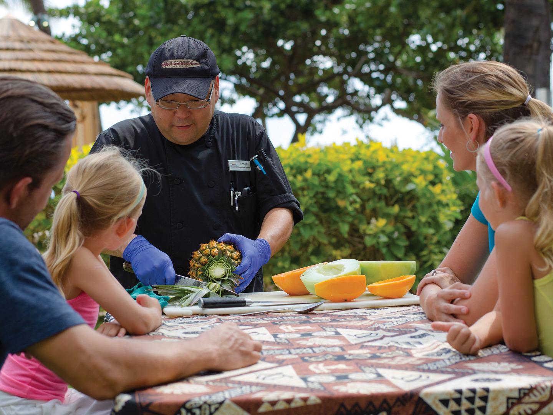 Marriott's Ko Olina Beach Club Activities/Fresh Fruit Bowls. Marriott's Ko Olina Beach Club is located in Kapolei, O'ahu, Hawai'i United States.