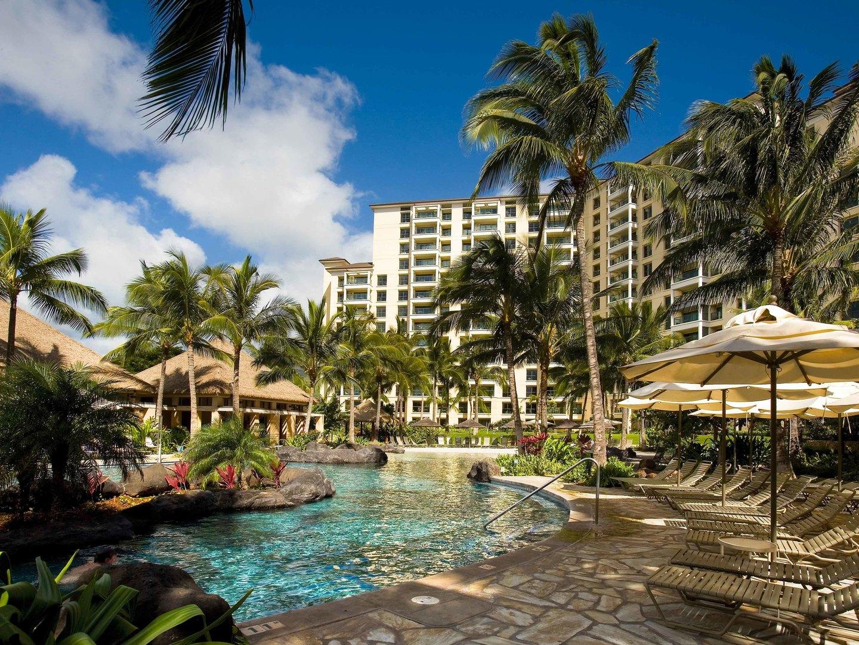 Marriott's Ko Olina Beach Club Pool. Marriott's Ko Olina Beach Club is located in Kapolei, O'ahu, Hawai'i United States.