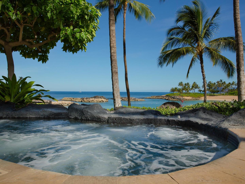 Marriott's Ko Olina Beach Club Whirlpool Spa/Ocean View. Marriott's Ko Olina Beach Club is located in Kapolei, O'ahu, Hawai'i United States.