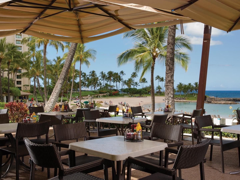 Marriott's Ko Olina Beach Club Longboards Bar & Grill. Marriott's Ko Olina Beach Club is located in Kapolei, O'ahu, Hawai'i United States.