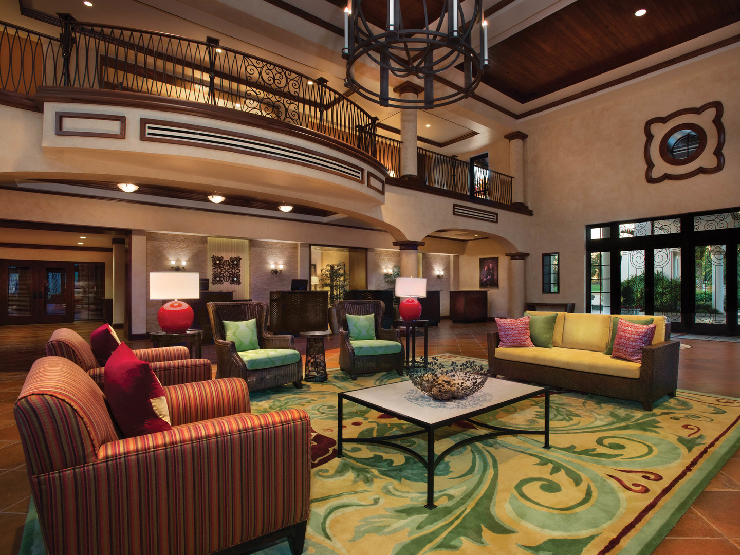 Marriott's Lakeshore Reserve Lobby. Marriott's Lakeshore Reserve is located in Orlando, Florida United States.