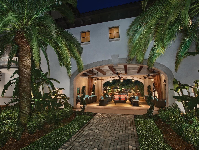 Marriott's Lakeshore Reserve The Breezeway. Marriott's Lakeshore Reserve is located in Orlando, Florida United States.