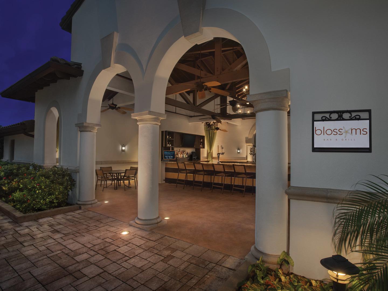 Marriott's Lakeshore Reserve Blossoms Restaurant. Marriott's Lakeshore Reserve is located in Orlando, Florida United States.