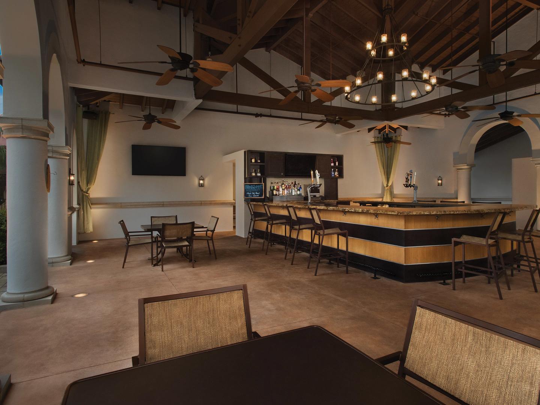 Marriott's Lakeshore Reserve Blossoms Restaurant/Bar. Marriott's Lakeshore Reserve is located in Orlando, Florida United States.