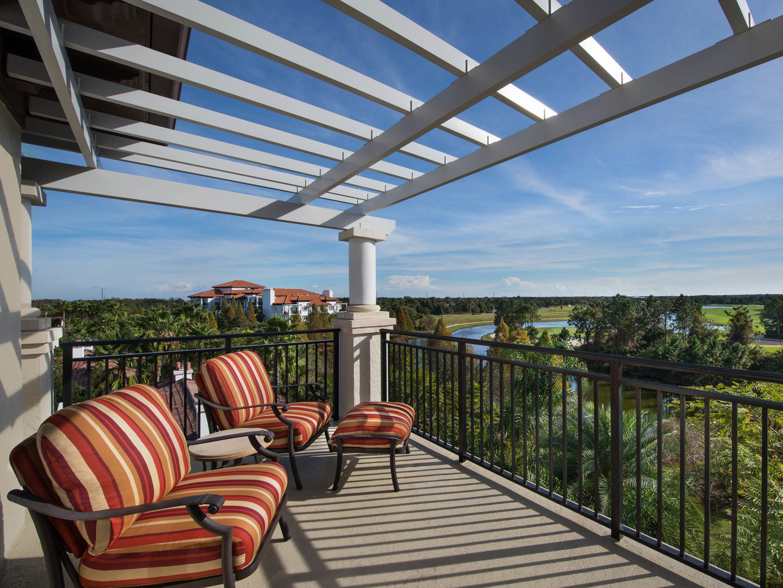 Marriott's Lakeshore Reserve 2-Bedroom Villa Balcony. Marriott's Lakeshore Reserve is located in Orlando, Florida United States.