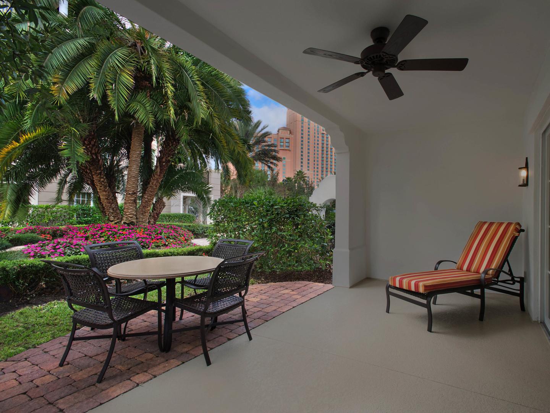 Marriott's Lakeshore Reserve 2-Bedroom Townhouse Patio. Marriott's Lakeshore Reserve is located in Orlando, Florida United States.