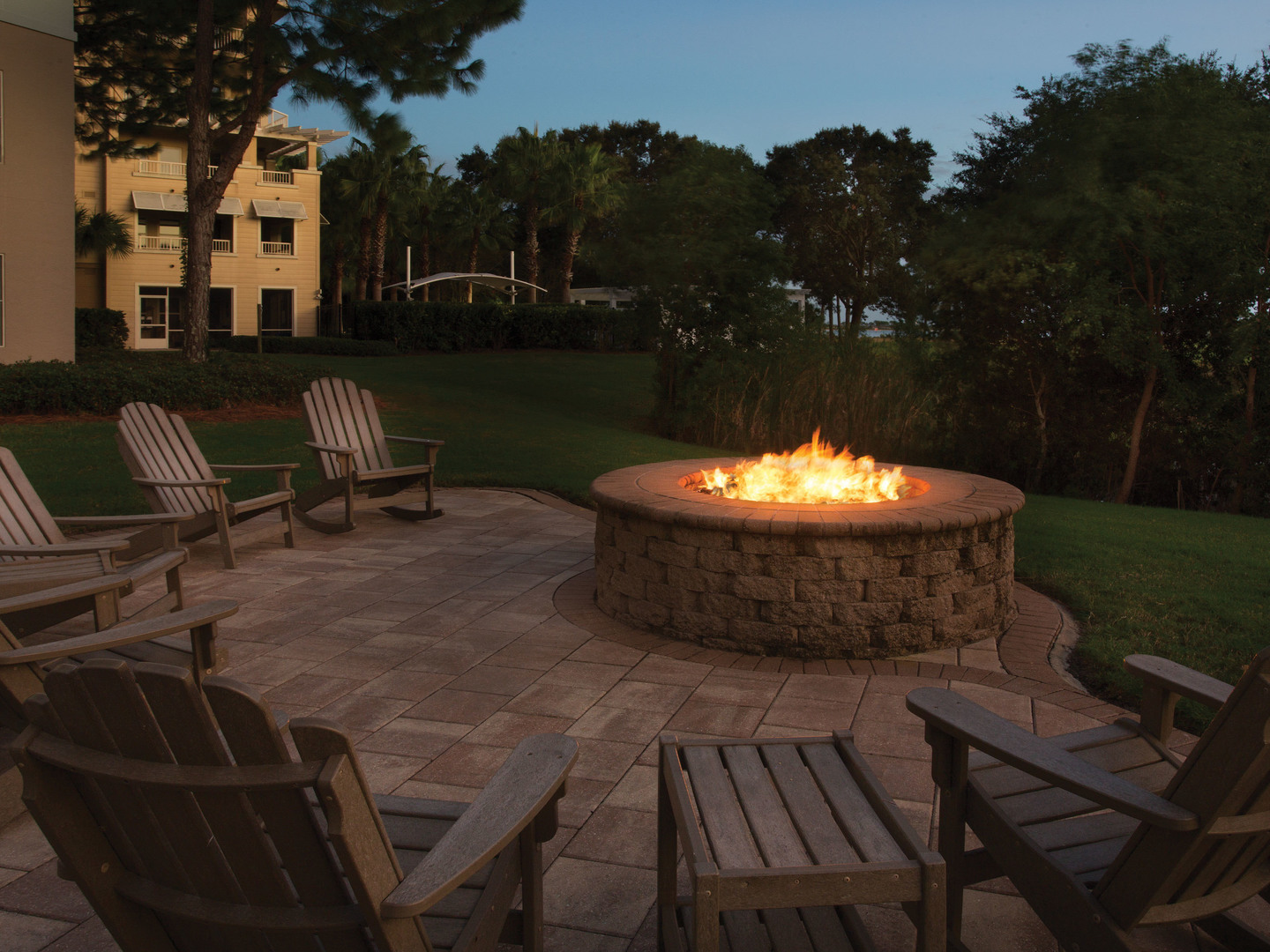 Marriott's Legends Edge at Bay Point Fire Pit. Marriott's Legends Edge at Bay Point is located in Panama City, Florida United States.
