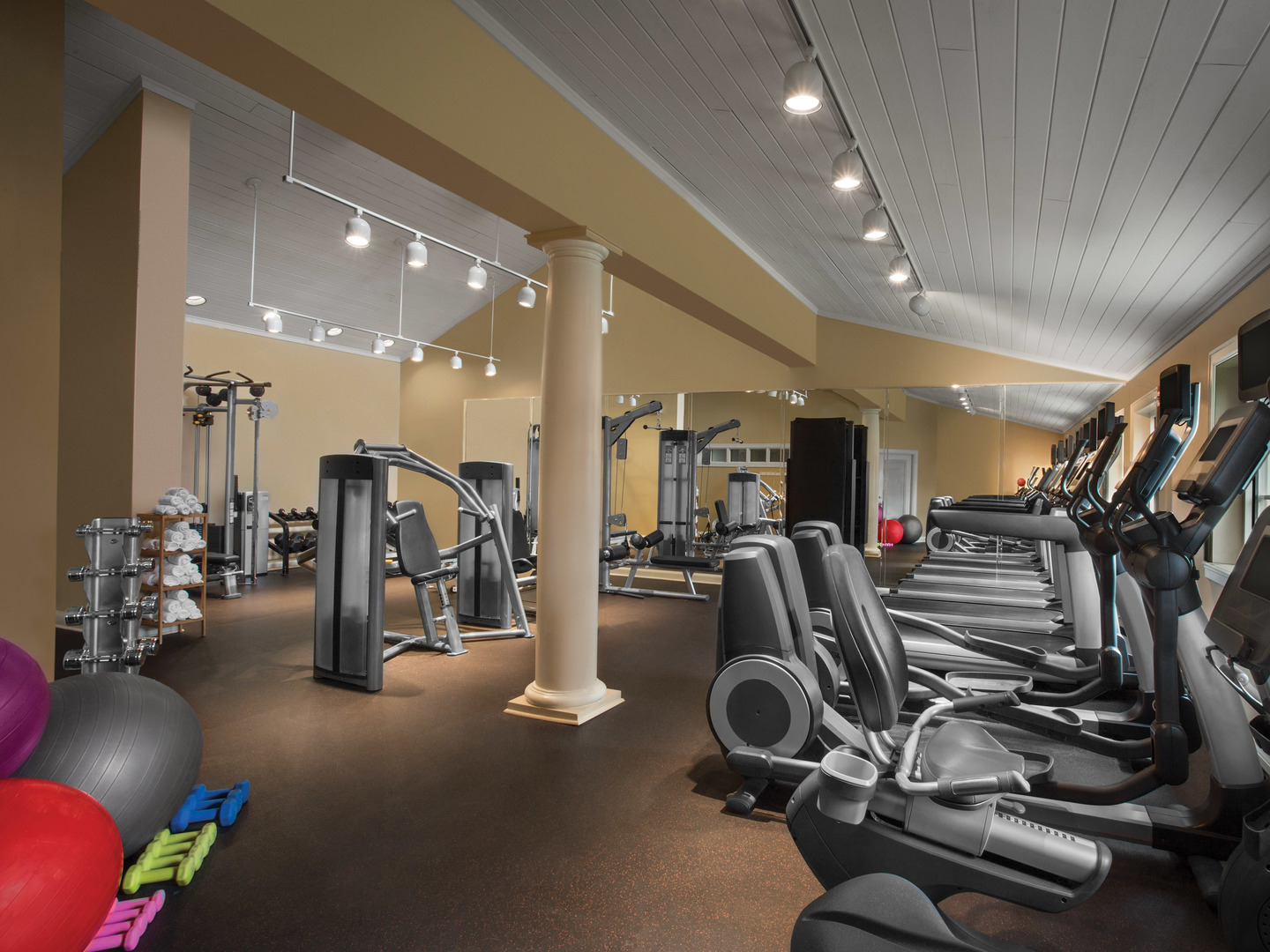 Marriott's Legends Edge at Bay Point Fitness Center. Marriott's Legends Edge at Bay Point is located in Panama City, Florida United States.