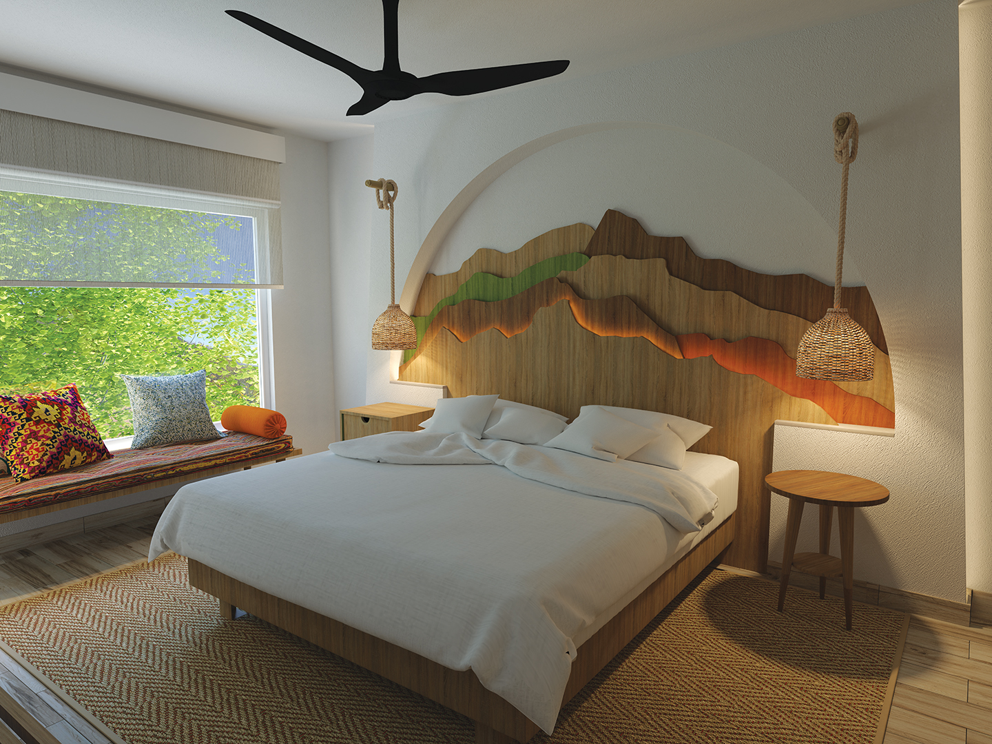 Image of the Master Bedroom