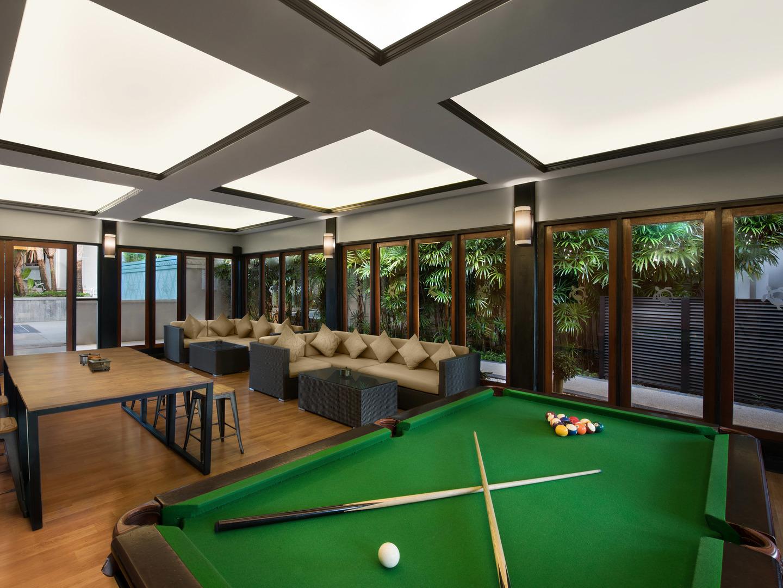 Marriott's Mai Khao Beach — Phuket Owners Lounge/Billiards. Marriott's Mai Khao Beach — Phuket is located in Mai Khao, Talang, Phuket Thailand.