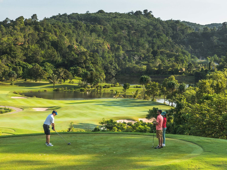 Marriott's Mai Khao Beach — Phuket Red Mountain Golf. Marriott's Mai Khao Beach — Phuket is located in Mai Khao, Talang, Phuket Thailand.