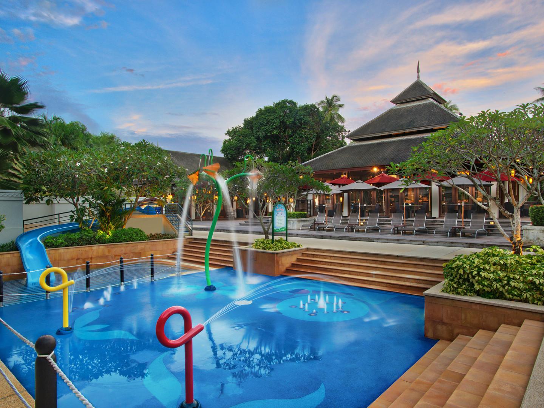 Marriott's Mai Khao Beach — Phuket Children's Pool. Marriott's Mai Khao Beach — Phuket is located in Mai Khao, Talang, Phuket Thailand.