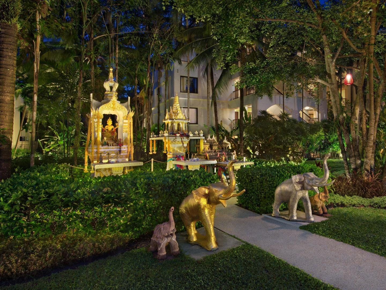 Marriott's Mai Khao Beach — Phuket Resort Grounds. Marriott's Mai Khao Beach — Phuket is located in Mai Khao, Talang, Phuket Thailand.
