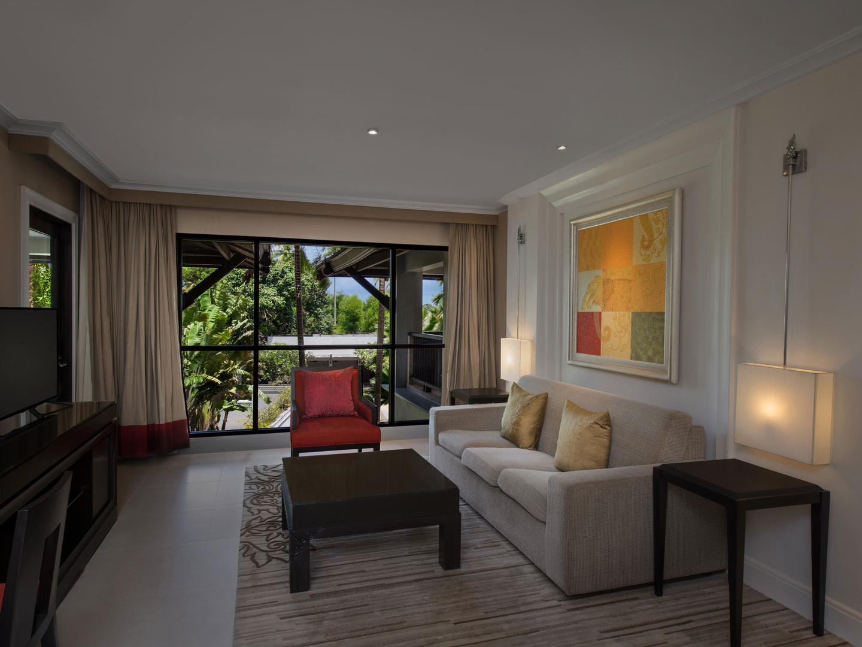 Marriott's Mai Khao Beach — Phuket Apartment Living Room. Marriott's Mai Khao Beach — Phuket is located in Mai Khao, Talang, Phuket Thailand.