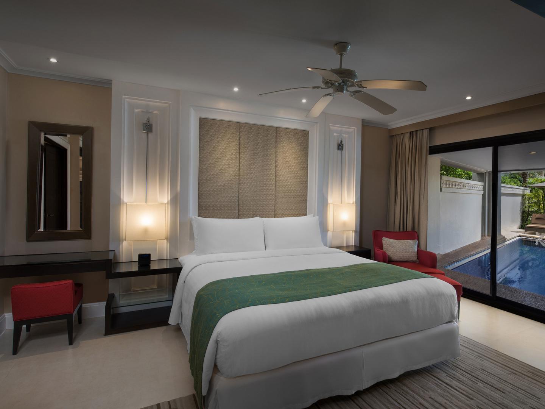 Marriott's Mai Khao Beach — Phuket Apartment Master Bedroom. Marriott's Mai Khao Beach — Phuket is located in Mai Khao, Talang, Phuket Thailand.