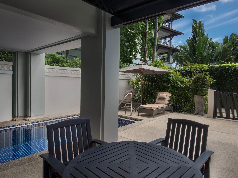 Marriott's Mai Khao Beach — Phuket Apartment Patio/Plunge Pool. Marriott's Mai Khao Beach — Phuket is located in Mai Khao, Talang, Phuket Thailand.