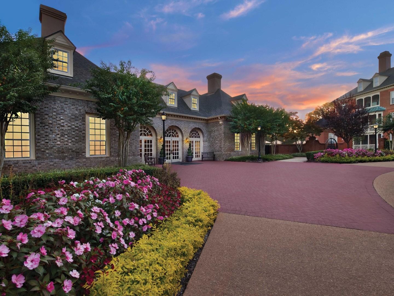 Marriott's Manor Club Resort Entrance/Exterior. Marriott's Manor Club is located in Williamsburg, Virginia United States.