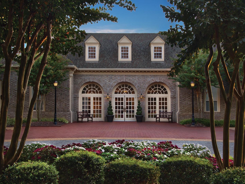 Marriott's Manor Club Resort Exterior. Marriott's Manor Club is located in Williamsburg, Virginia United States.