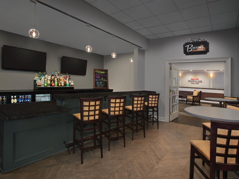 Marriott's Manor Club Bistro Restaurant. Marriott's Manor Club is located in Williamsburg, Virginia United States.