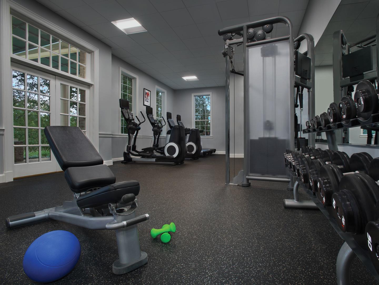 Marriott's Manor Club Fitness Center. Marriott's Manor Club is located in Williamsburg, Virginia United States.