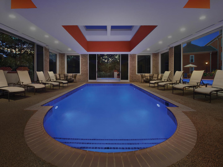 Marriott's Manor Club Indoor Pool. Marriott's Manor Club is located in Williamsburg, Virginia United States.