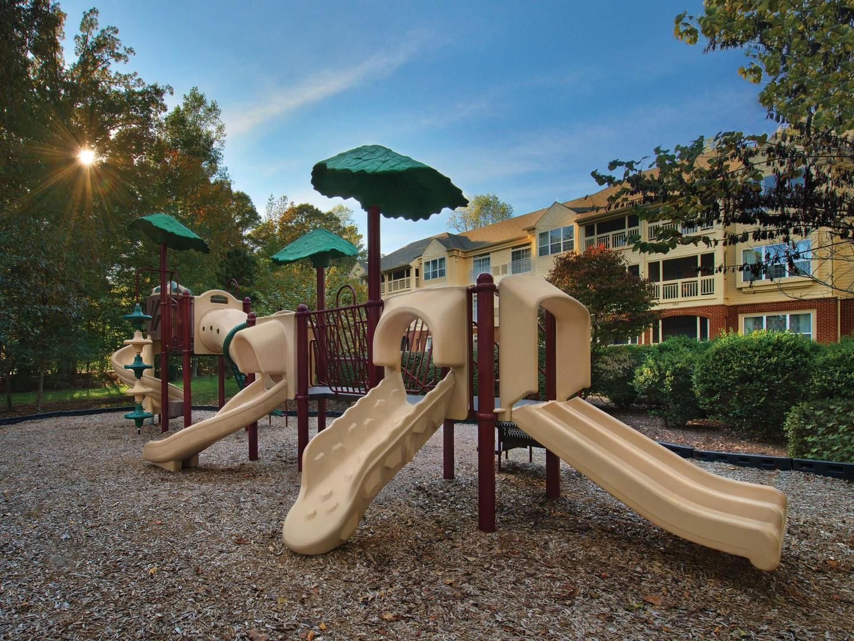 Marriott's Manor Club Playground. Marriott's Manor Club is located in Williamsburg, Virginia United States.