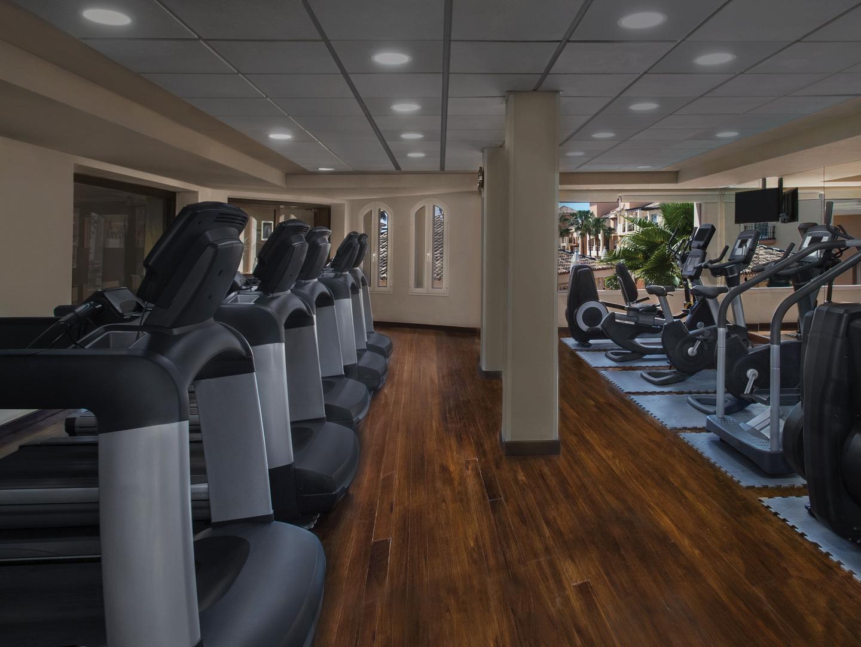 Marriott's Marbella Beach Resort Fitness Center. Marriott's Marbella Beach Resort is located in Marbella,  Spain.